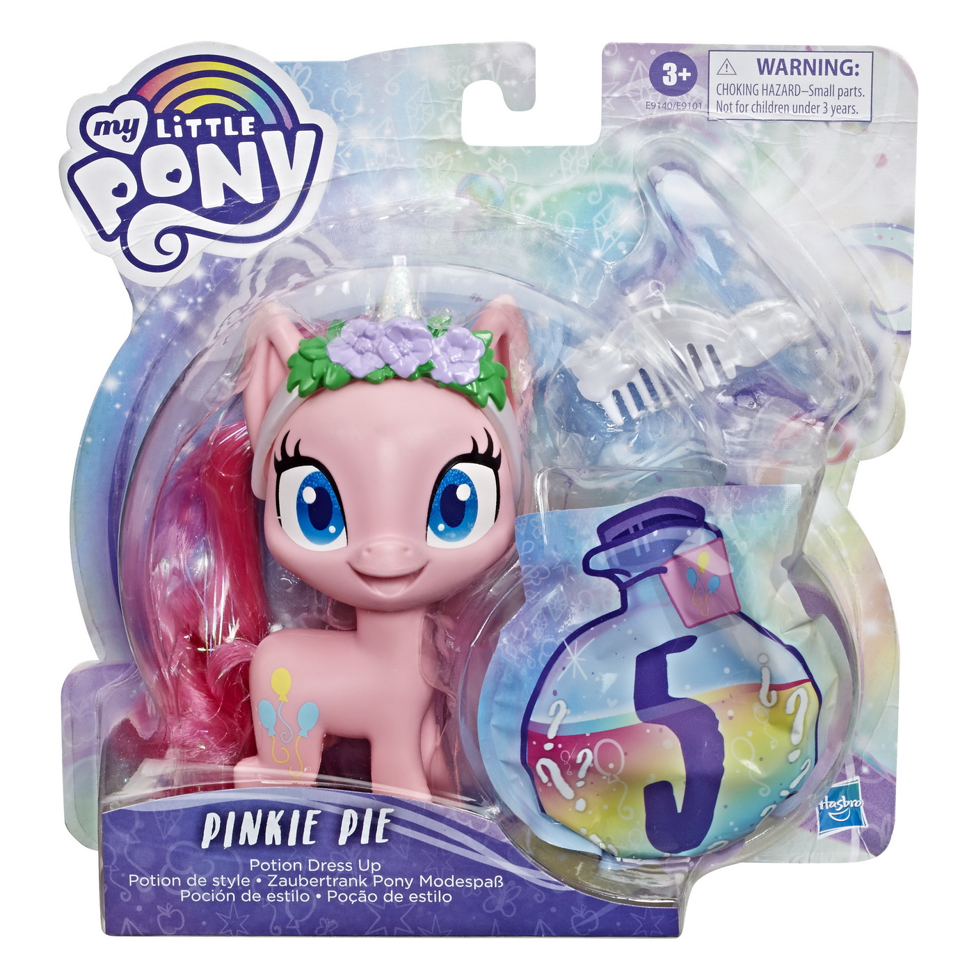 My little pony poneiul pinkie pie potion dress up