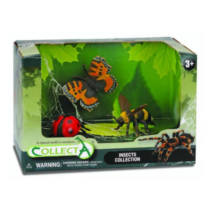 Set 3 figurne Insecte pictate manual SOB Collecta