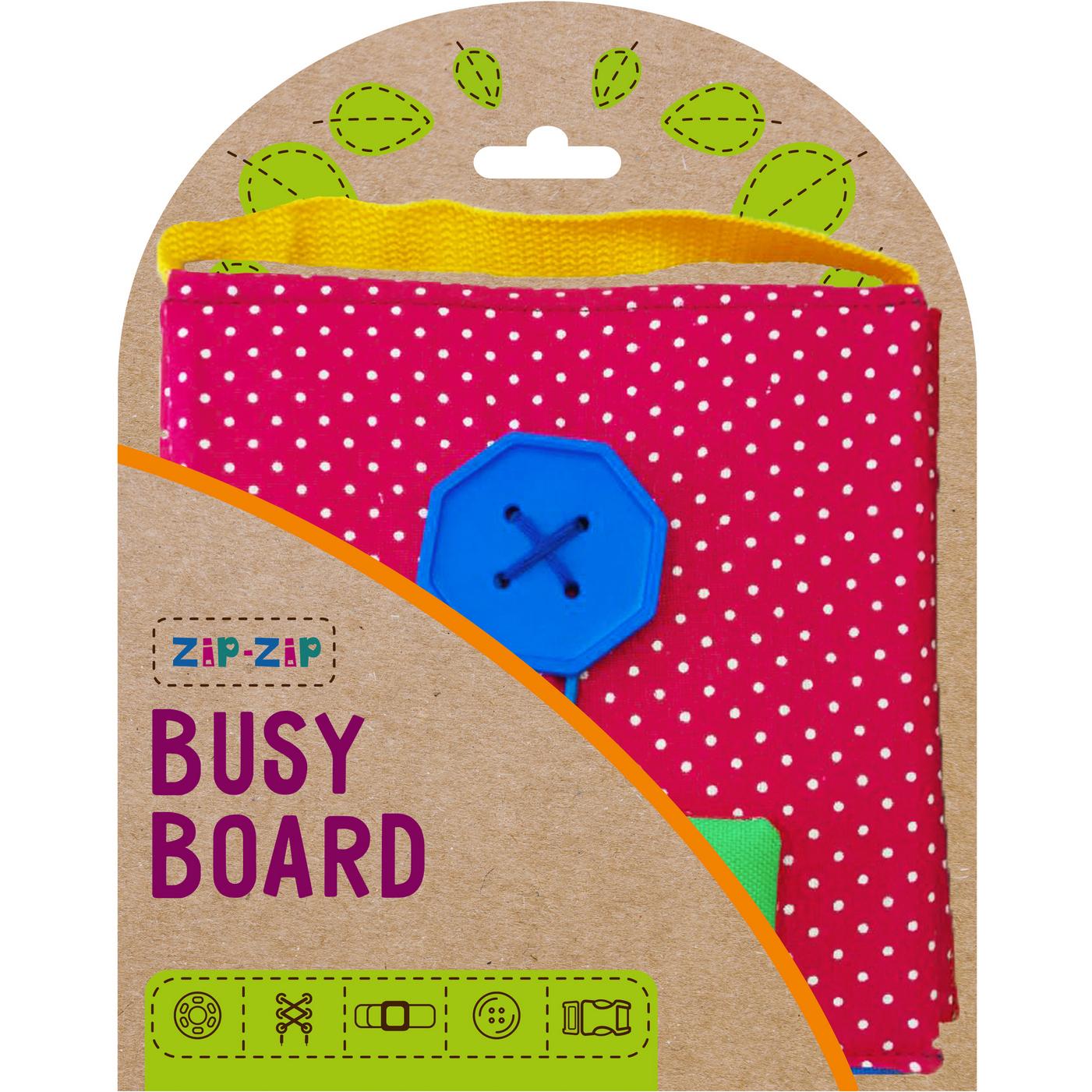 Joc de indemanare Carte Senzoriala Busy Board Roter Kafer RZ2001-02