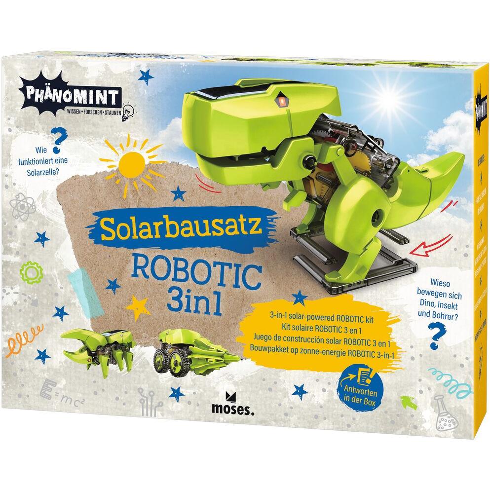 Kit constructie robot solar 3 in 1 PhenoMINT Moses MS30316