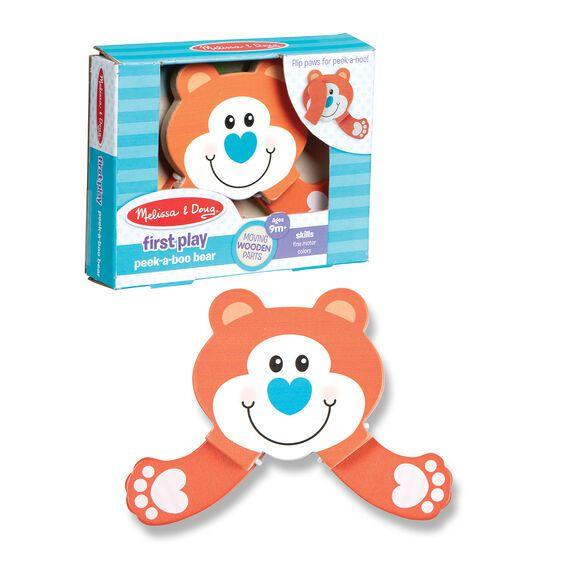 Jucarie pentru bebe Ursulet Cucu-Bau imagine