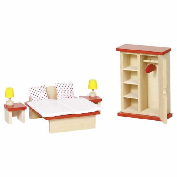 Mobilier pentru casute papusi - Dormitor