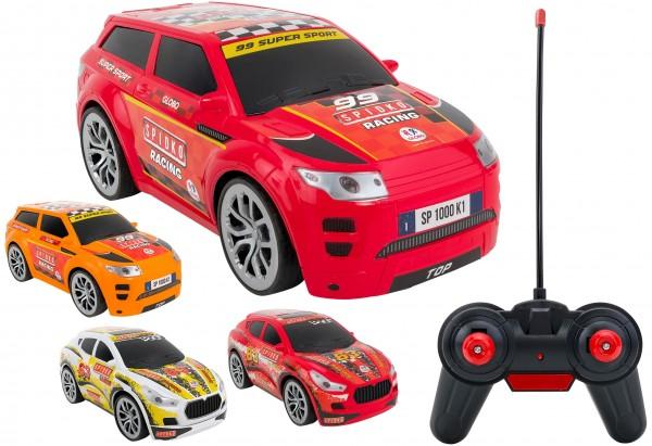 Masinuta cu telecomanda SUV WRC Globo scara 1:16, 27 Mhz