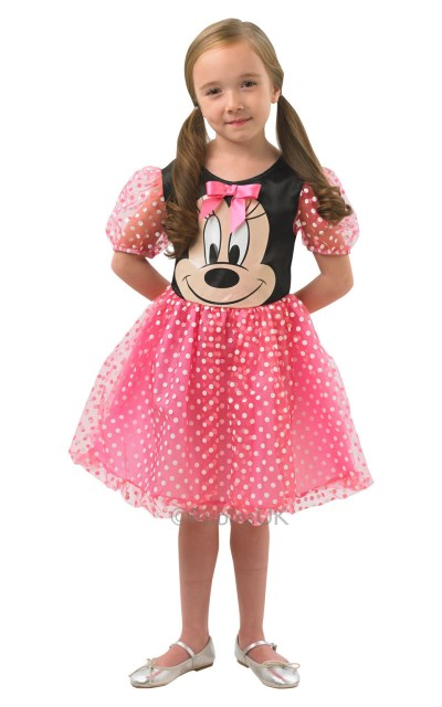 Costum De Carnaval - Rochita Roz Minnie