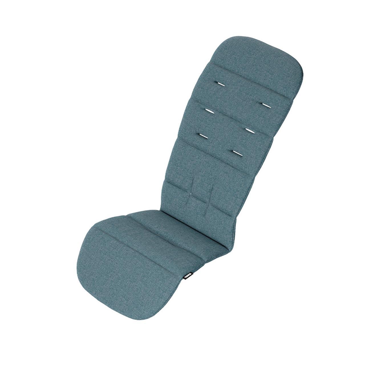 Accesoriu Thule Seat Liner - captuseala pentru scaun carucior Thule Sleek si Thule Spring - Teal Melange imagine