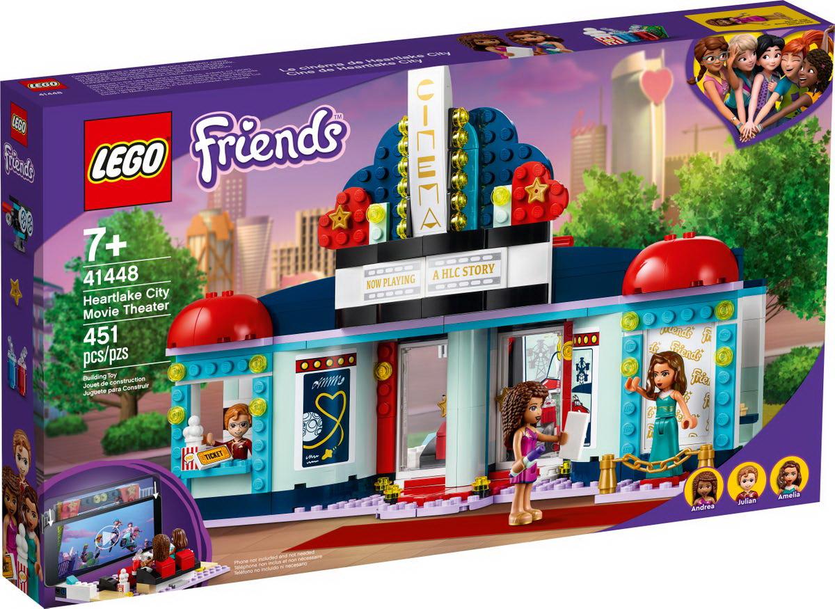 Lego friends cinematograful din heartlake city 41448 imagine