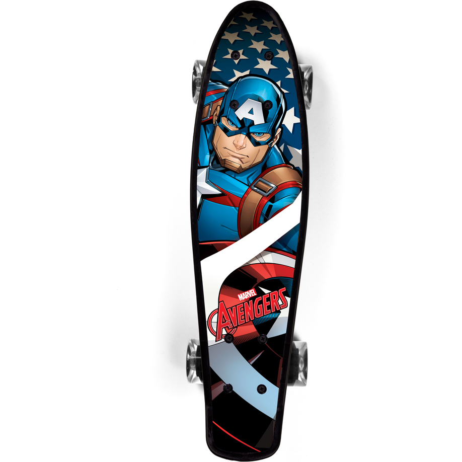 Penny board Captain America Seven SV9937 imagine