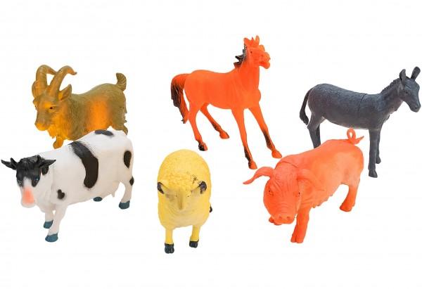 Set 6 animale ferma Globo