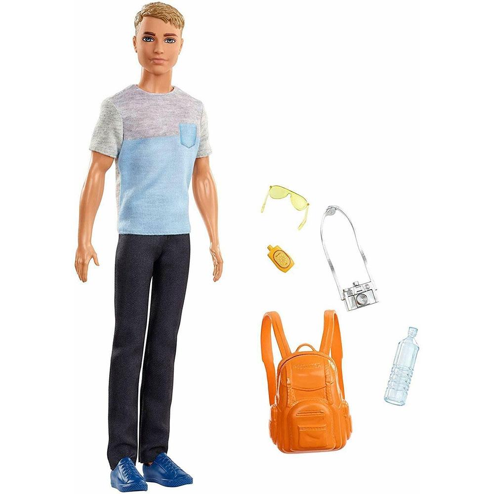 Papusa Barbie by Mattel Travel Ken