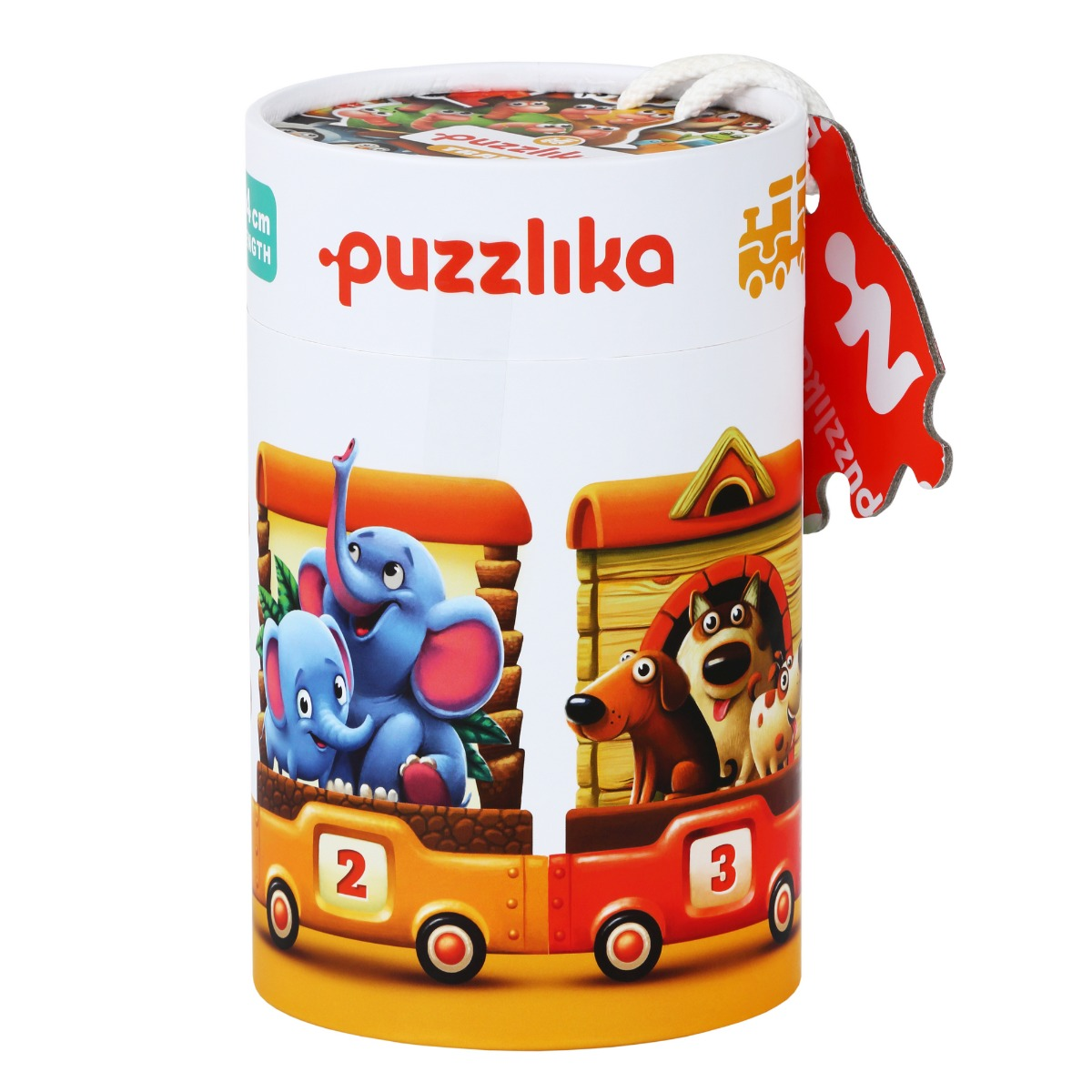 Puzzle, cubika, trenuletul vesel