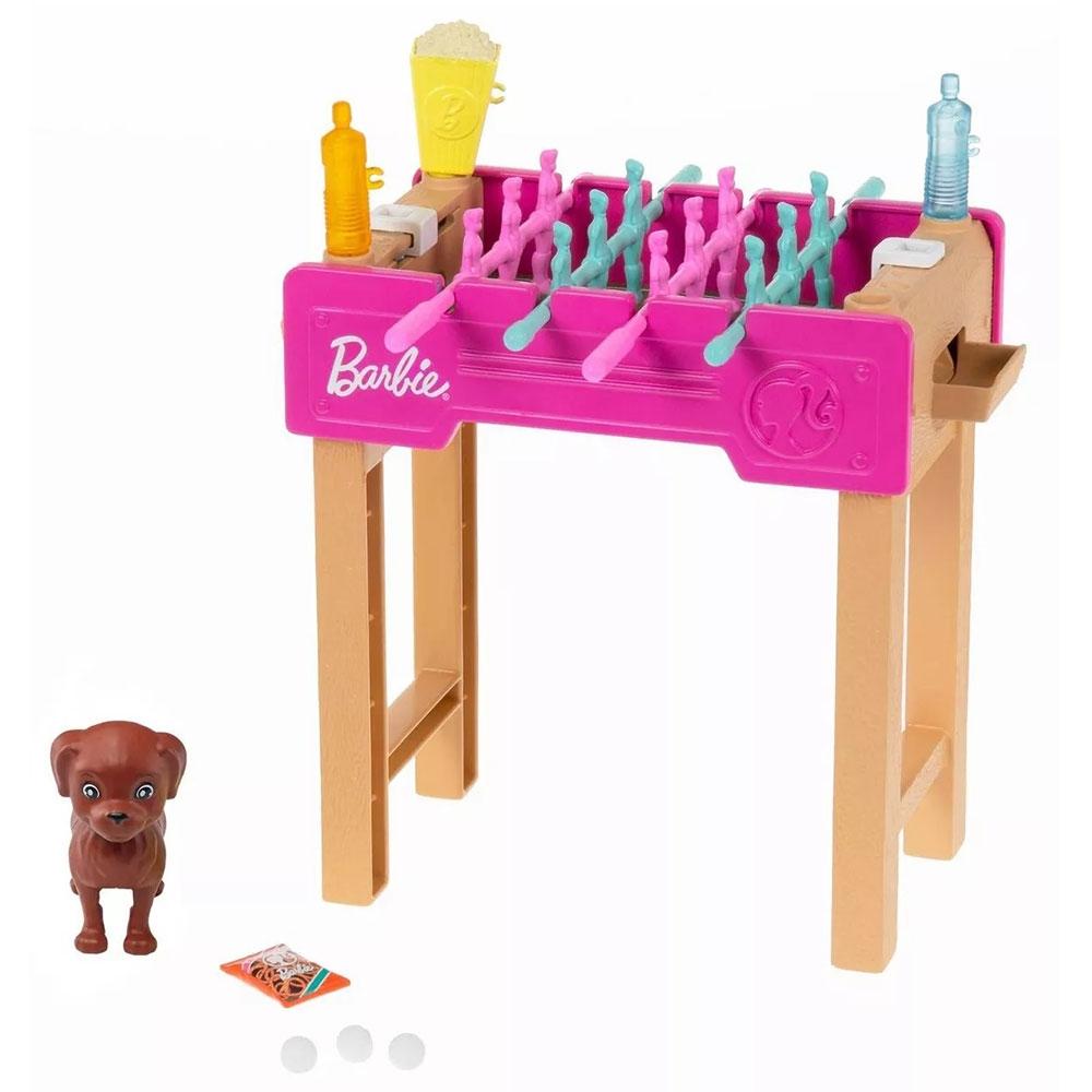 Set Barbie by Mattel Mobilier cu accesorii GRG77