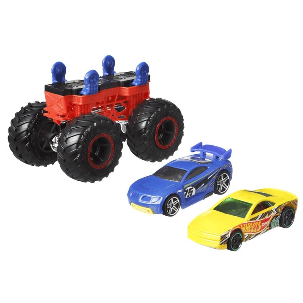 Set Hot Wheels by Mattel Monster Trucks Monster Maker GWW14