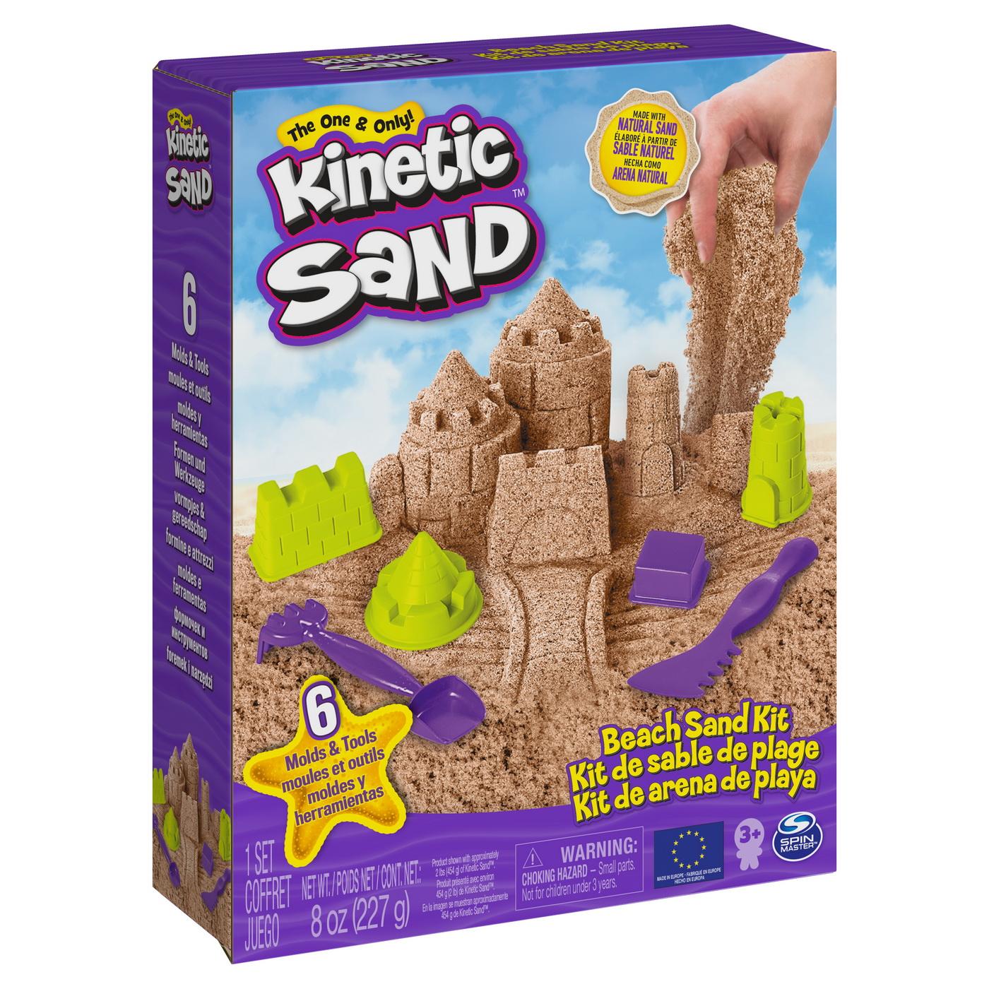 Set kinetic sand o zi la plaja