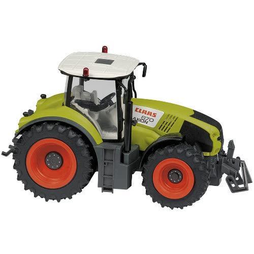 Jucarie Tractor cu Telecomanda RC Claas Axion 870, Scara 1:16