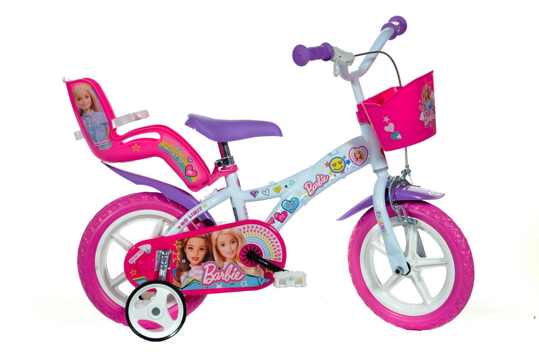 Bicicleta copii 12' - Barbie la plimbare