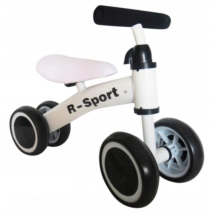 Bicicleta fara pedale r-sport r11 - alb