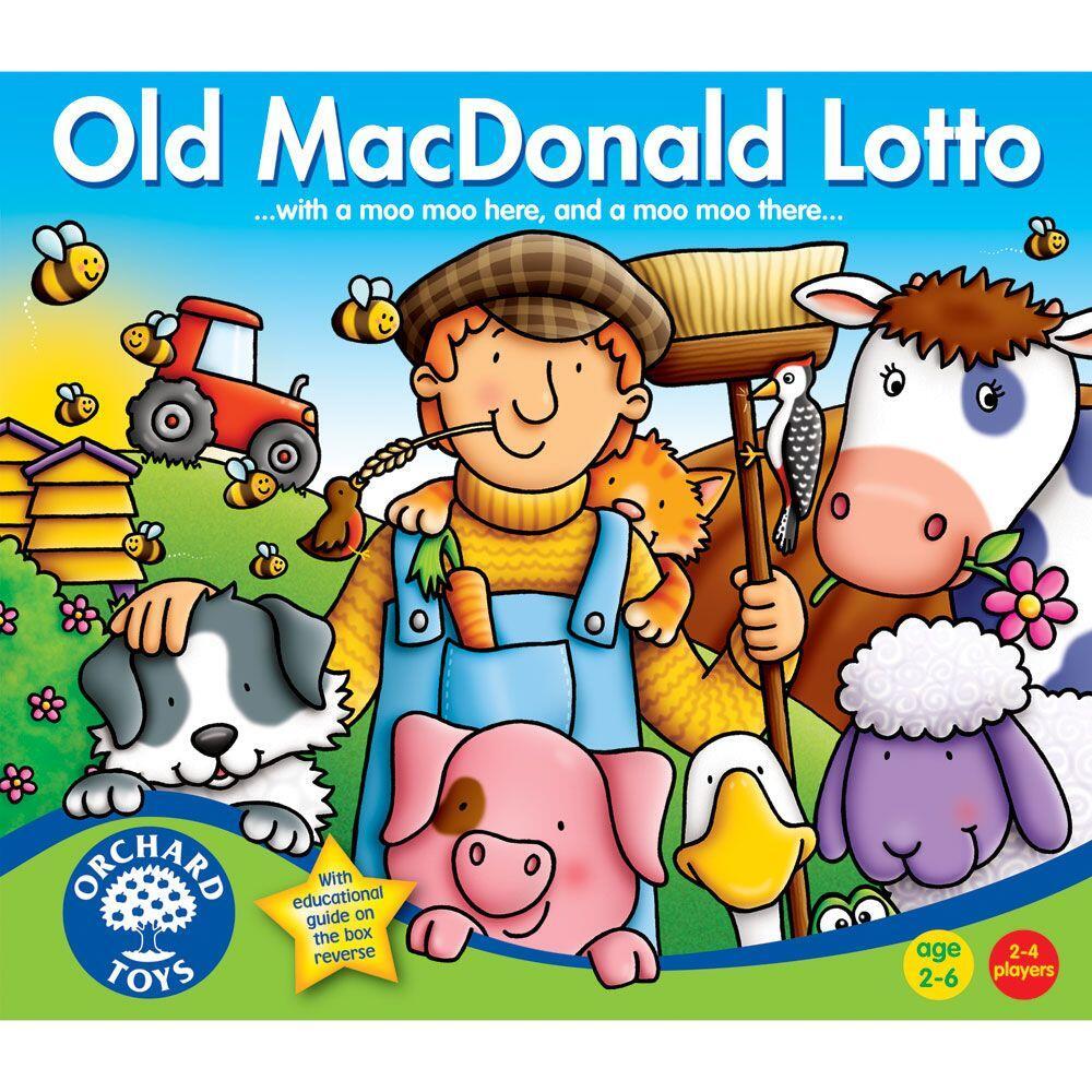 Joc lotto - Ferma lui Old Macdonald