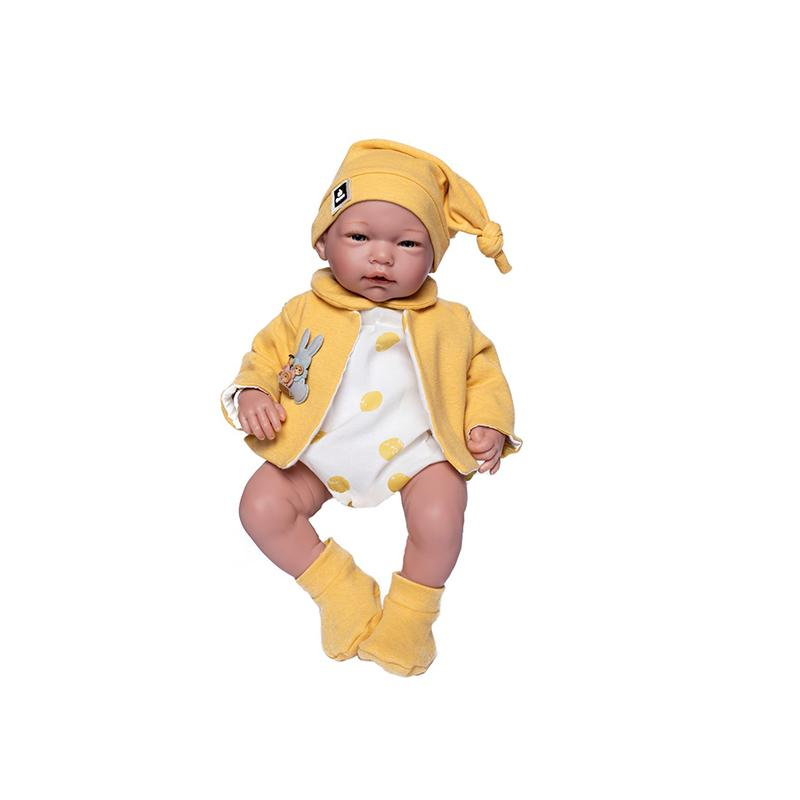 Papusa bebelus realist Marta, fara par, 46 cm, Guca