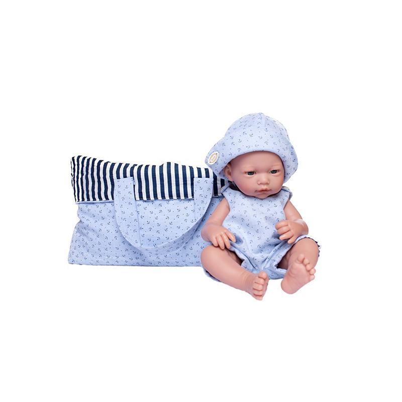 Papusa bebelus nou nascut Dani, fara par, 36 cm, Guca