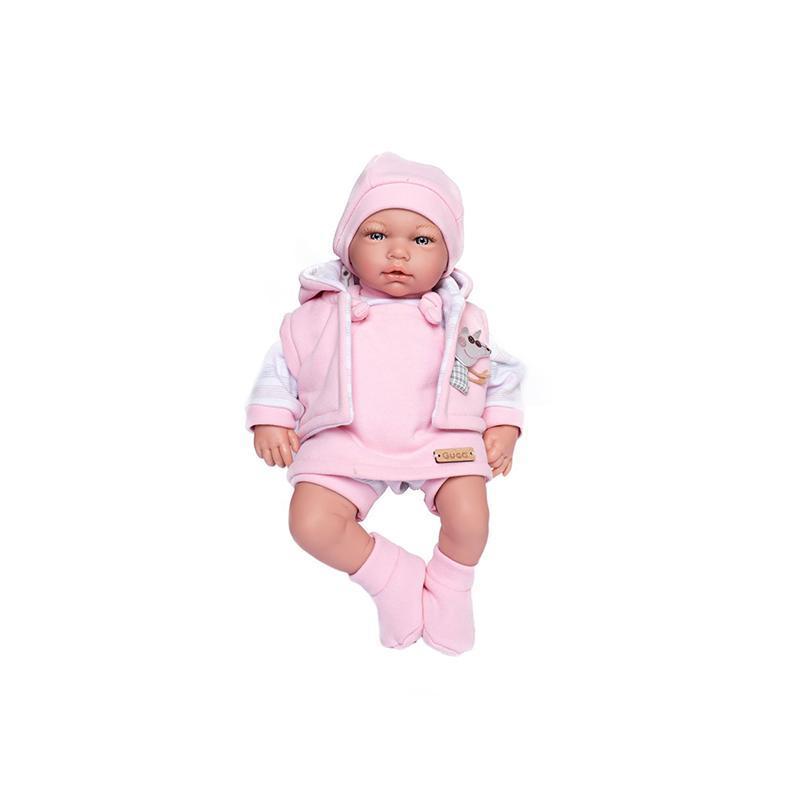 Papusa bebelus realist Celine, fara par, 38 cm, Guca