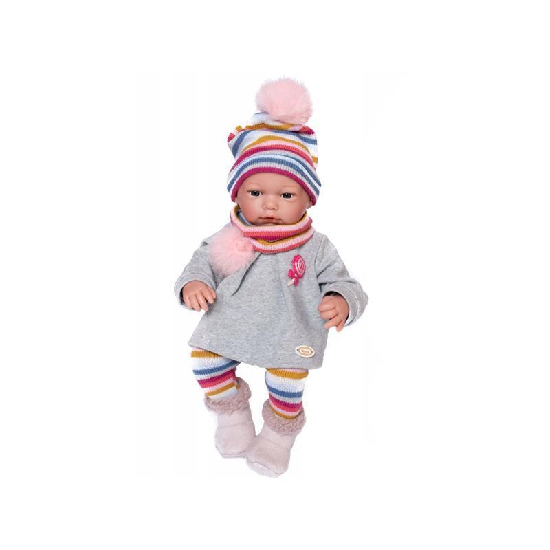 Papusa bebelus realist Natalia, fara par, 38 cm, Guca