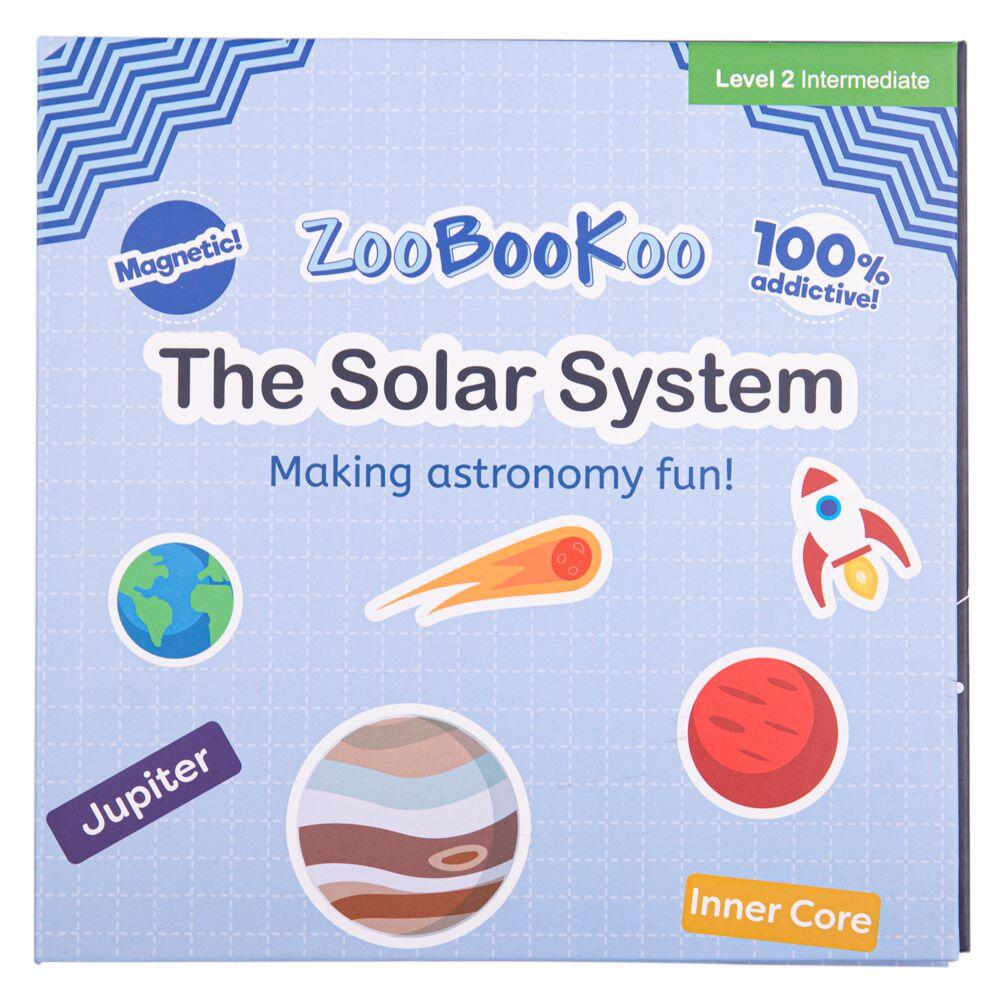 Carte magnetica - Sistemul solar