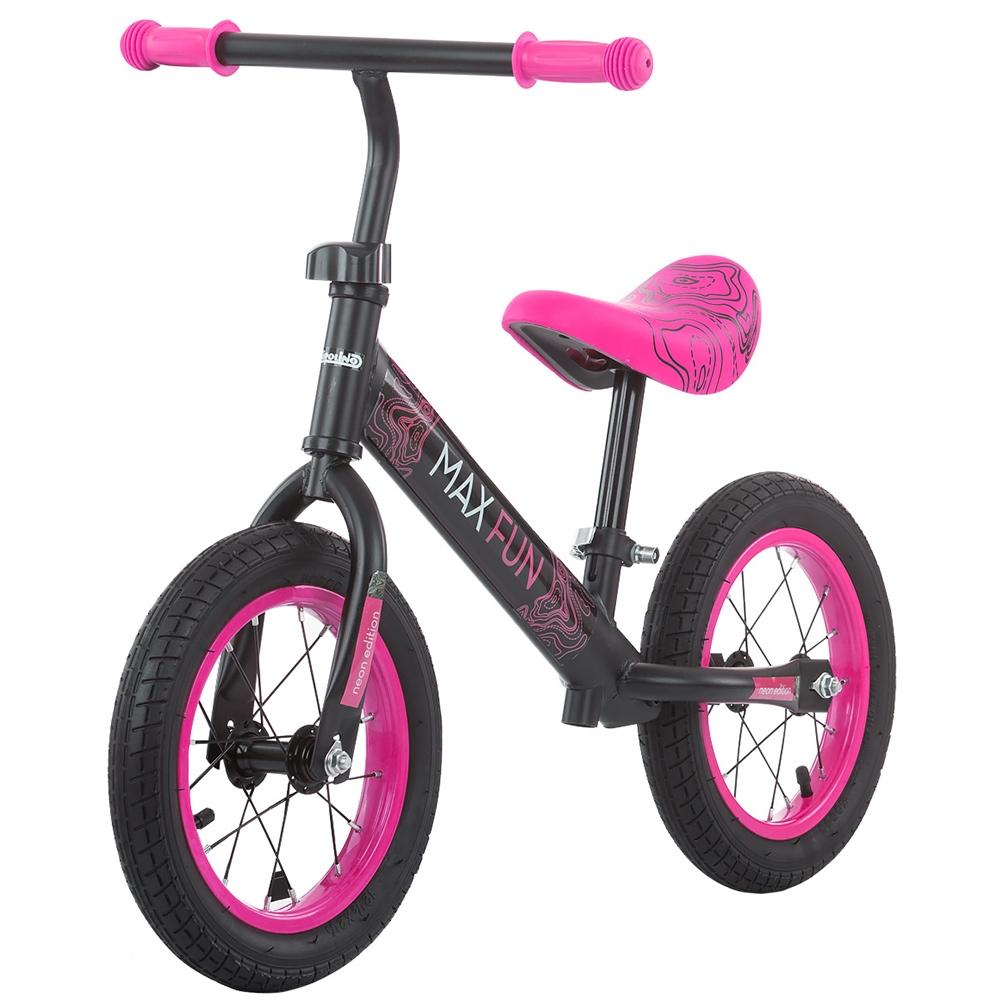 Bicicleta fara pedale Chipolino Max Fun pink