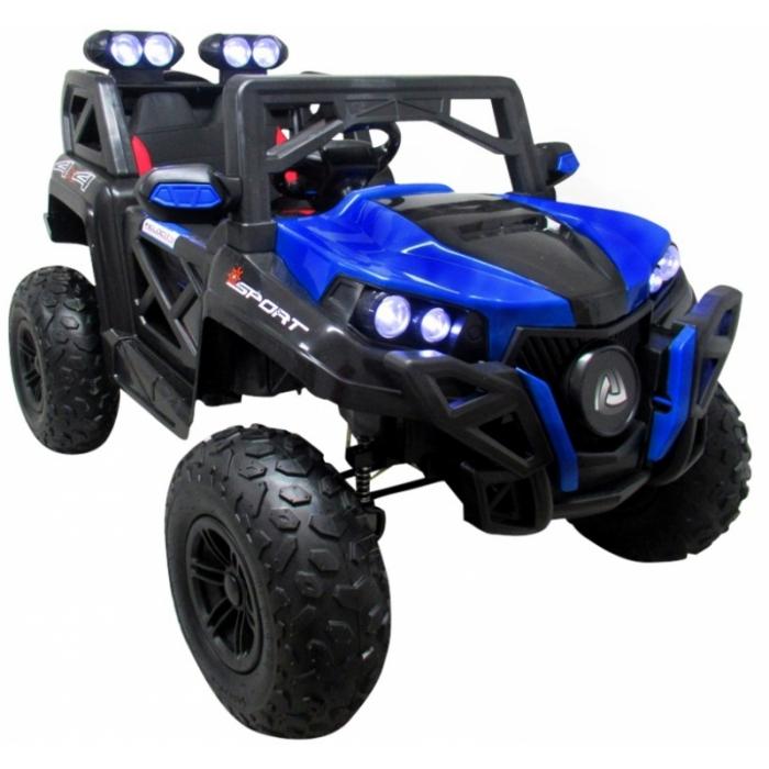 Masinuta electrica cu telecomanda 4 x 4 buggy x9 r-sport - albastru