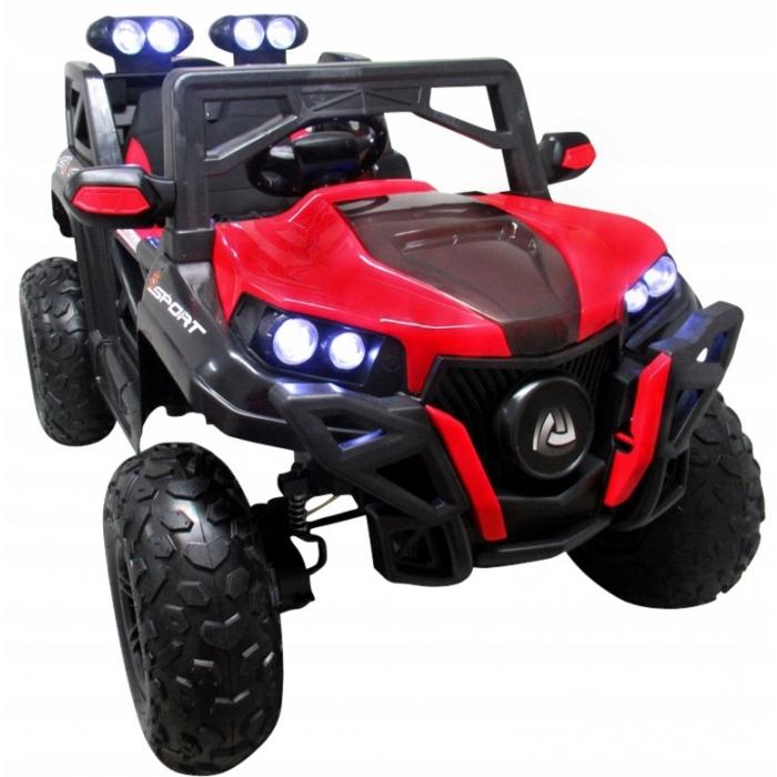 Masinuta electrica cu telecomanda 4 x 4 buggy x9 r-sport - rosu