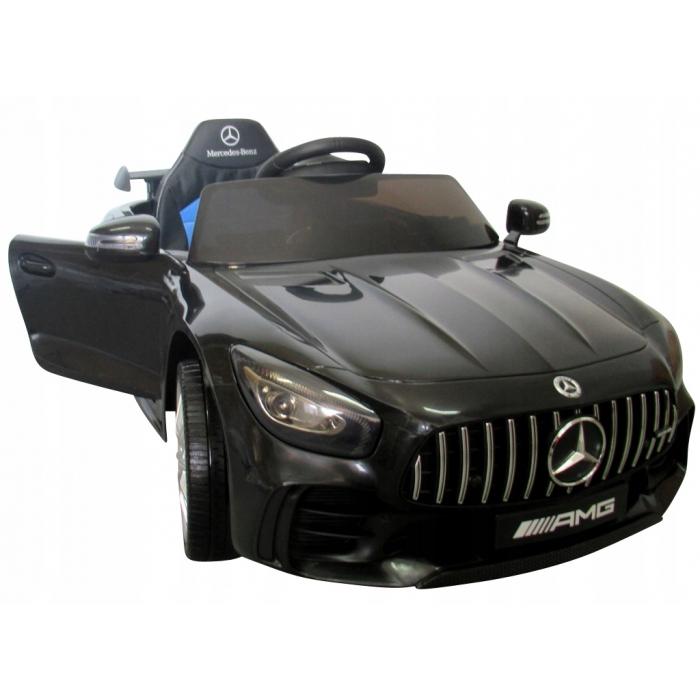 Masinuta electrica cu telecomanda mercedes amg gtr-s r-sport - negru