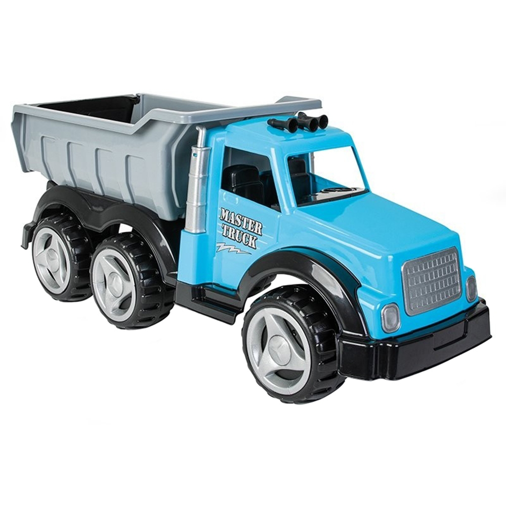 Camion basculant Pilsan Master Truck blue