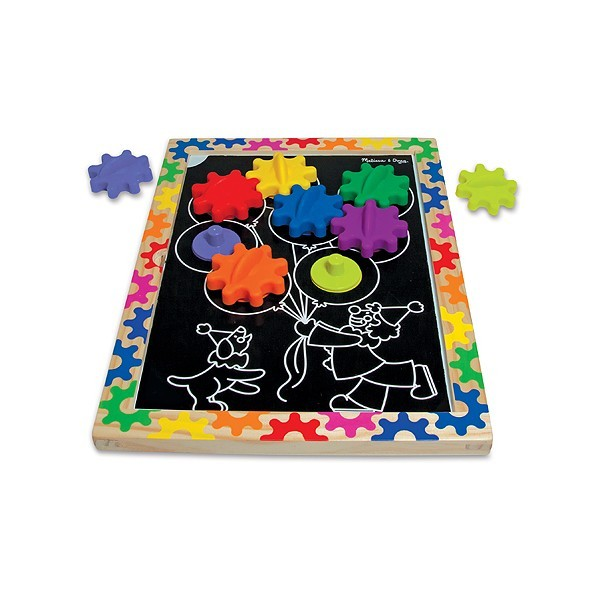 Puzzle Magnetic Schimba Si Roteste Melissa And Doug