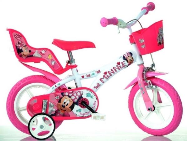 Bicicleta Minnie Mouse 12' - Dino Bikes 612MM