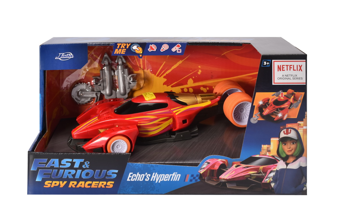 Fast and furious spy racers rally hyper fin scara 1:24