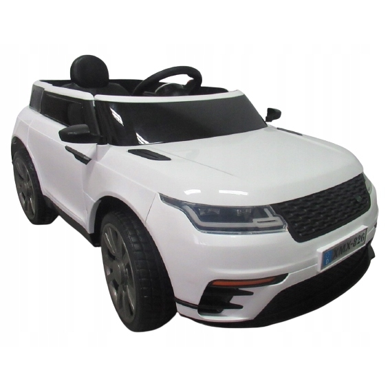 Masinuta electrica cu telecomanda, roti eva, r-sport cabrio f4 - alb