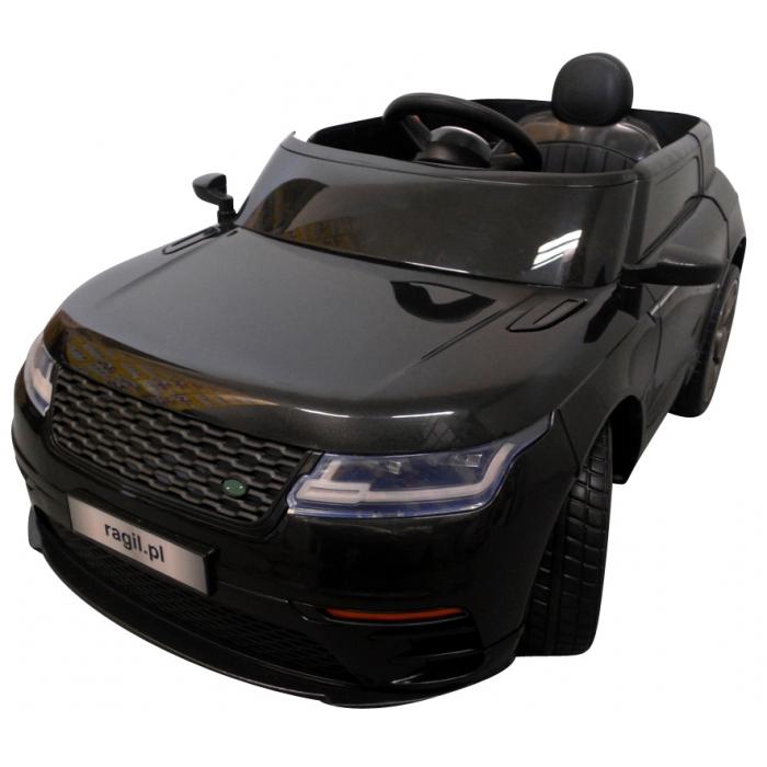 Masinuta electrica cu telecomanda, roti eva, r-sport cabrio f4 - negru