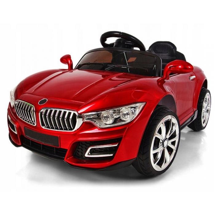Masinuta electrica cu telecomanda cu baterii si functie de balansare r-sport cabrio b16 - rosu