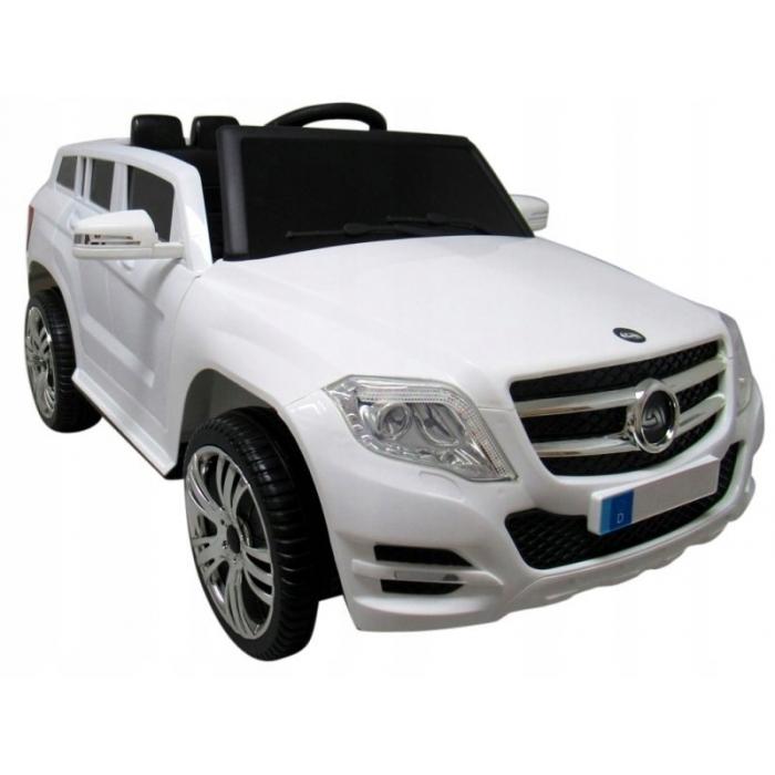 Masinuta electrica cu telecomanda r-sport suv x1 - alb