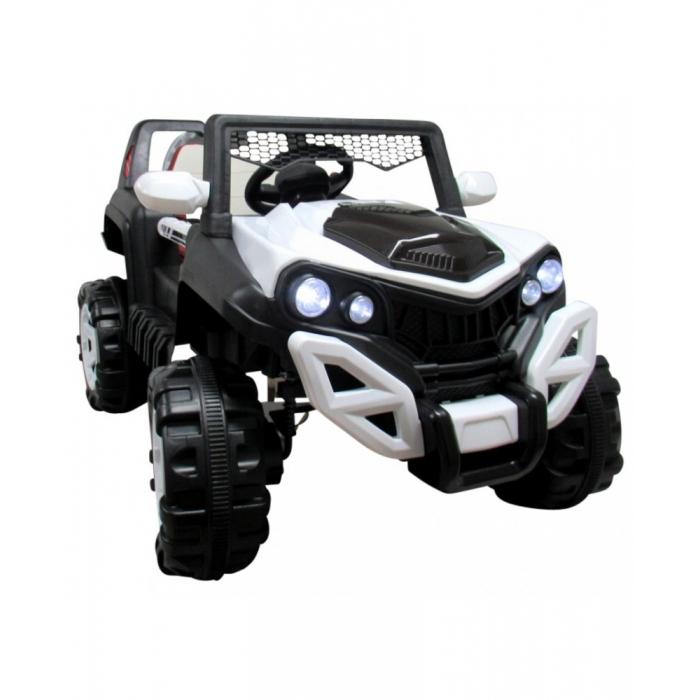 Masinuta electrica cu telecomanda si functie de balansare 4 x 4 buggy x8 r-sport - alb