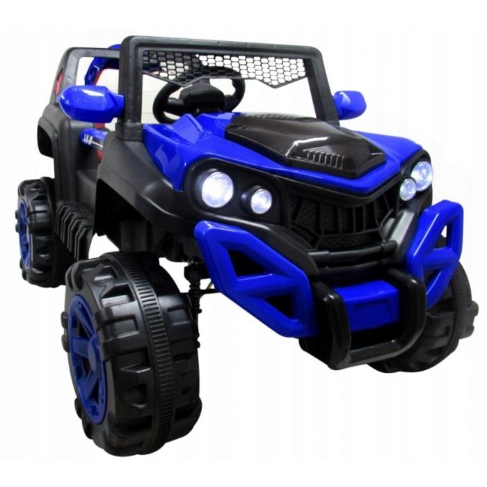 Masinuta electrica cu telecomanda si functie de balansare 4 x 4 buggy x8 r-sport - albastru