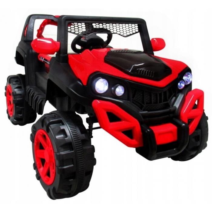 Masinuta electrica cu telecomanda si functie de balansare 4 x 4 buggy x8 r-sport - rosu
