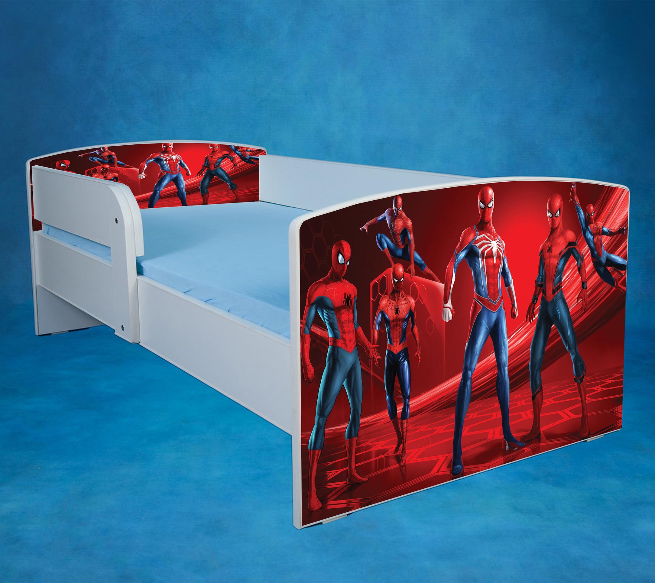 Spider man 3 - saltea inclusa - 140x70 cm, fara sertar