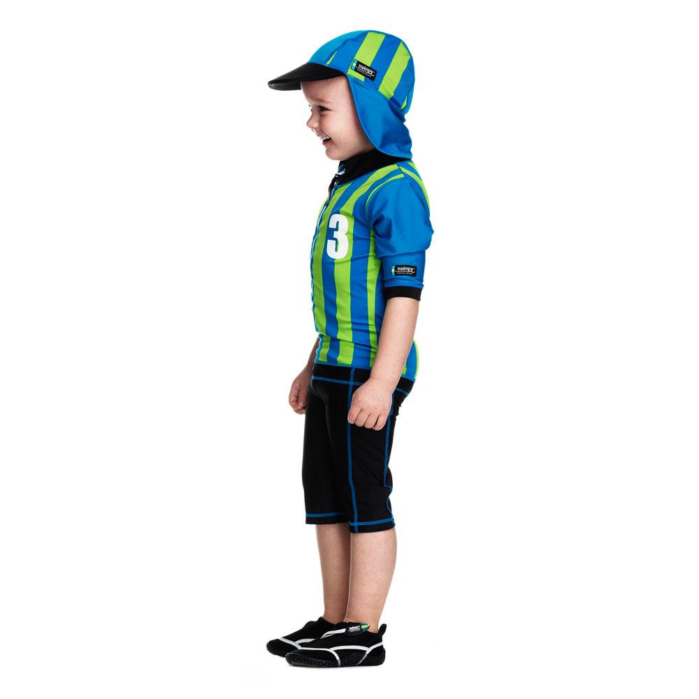 Costum de baie Sport blue marime 98- 104 protectie UV Swimpy