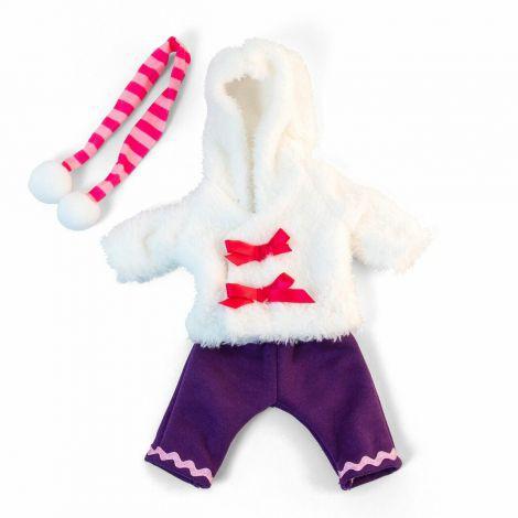Set imbracaminte vreme rece pentru papusa fetita 32 cm