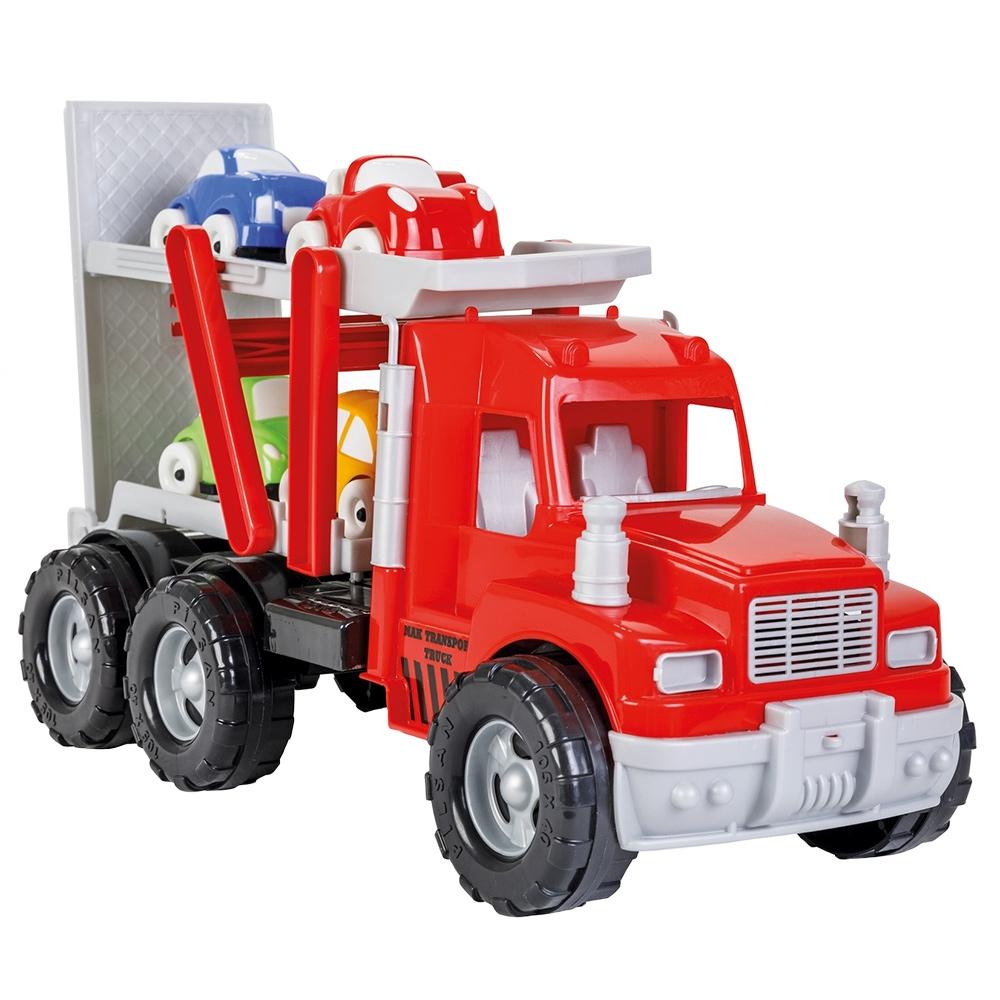Camion Pilsan Mak Transport Truck cu 4 masinute