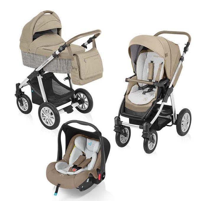 Baby Design Dotty Eco 09 Beige - Carucior 3 In 1