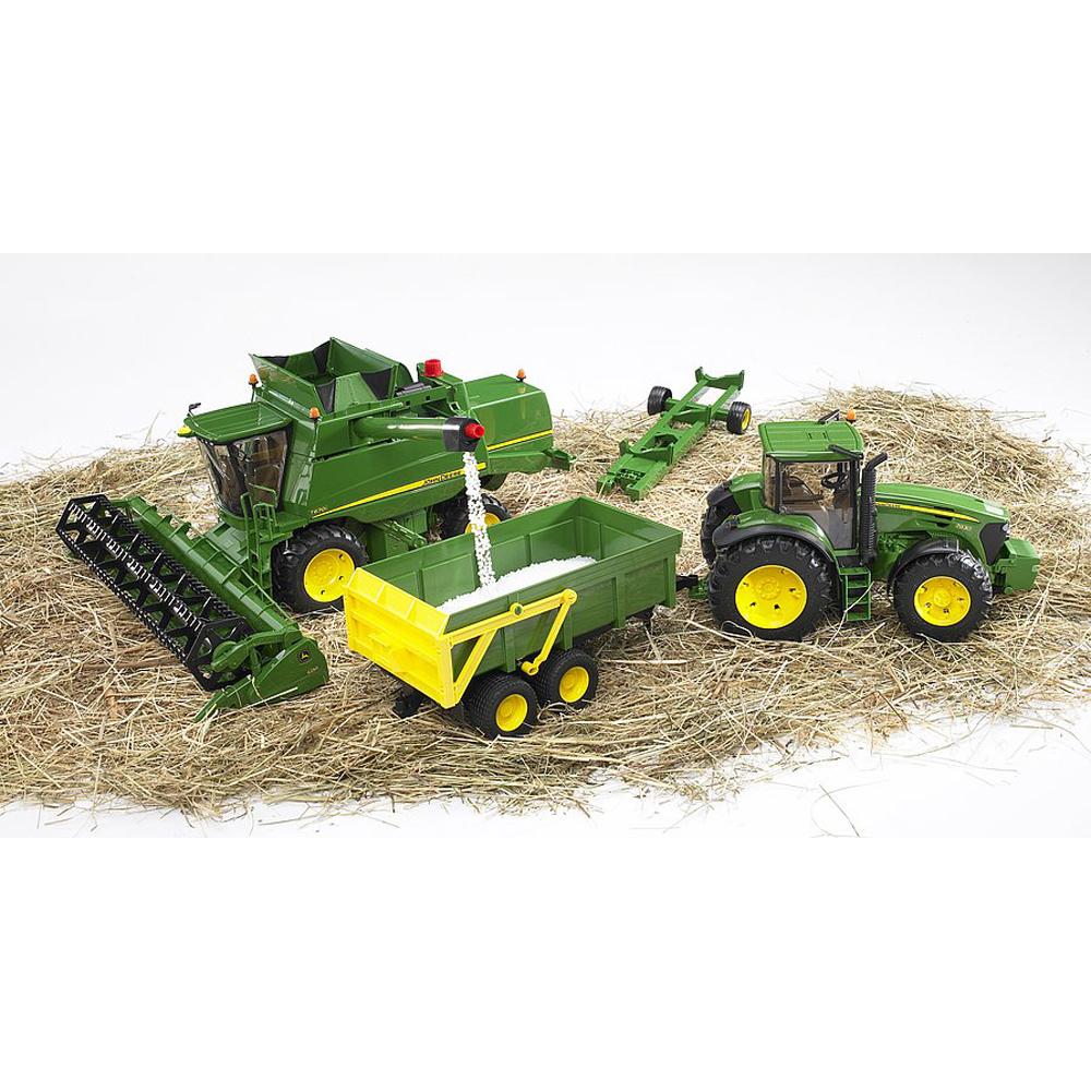 BRUDER - COMBINA AGRICOLA JOHN DEERE T670i