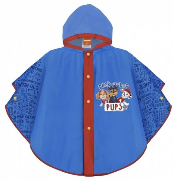 Pelerina de ploaie Paw Patrol pentru copii Perletti Albastra