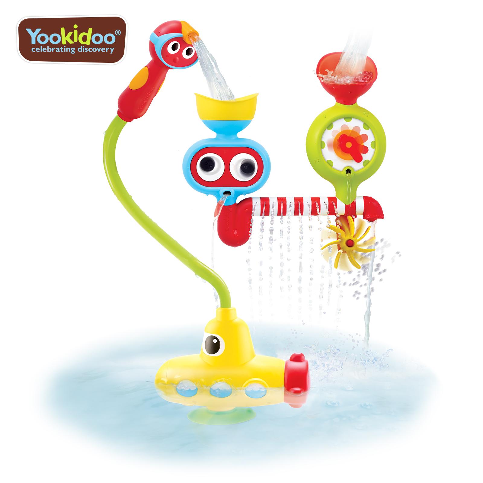 Jucarie statie submarin cu dus - 2-6 ani, yookidoo
