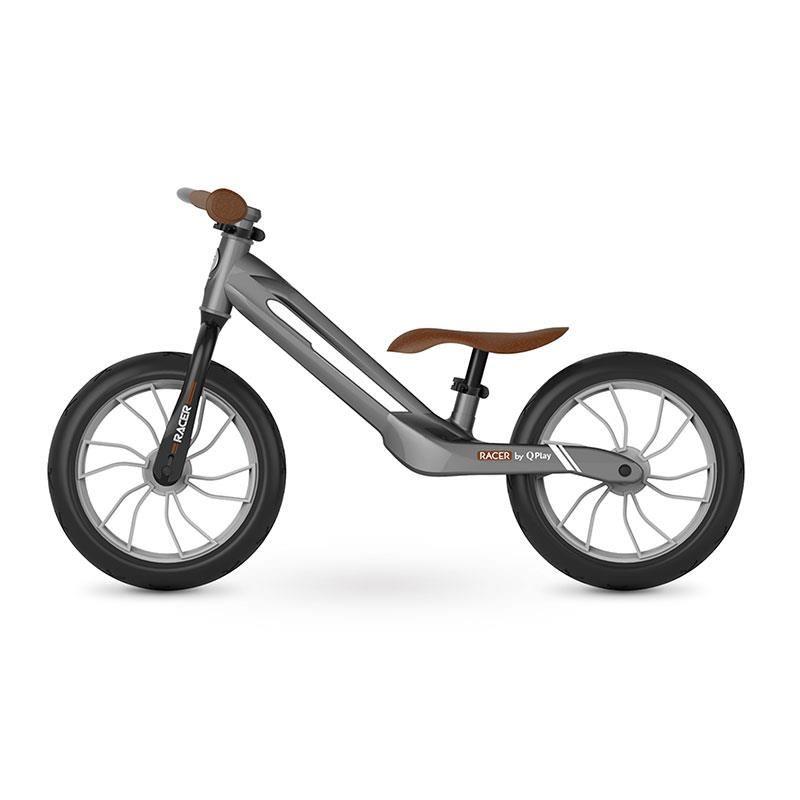 Balance Bike QPlay Racer Gri